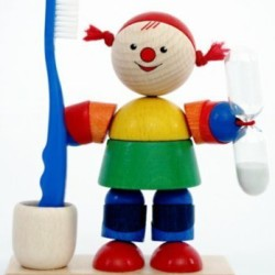 Klepsydra mycia ząbków – Luci