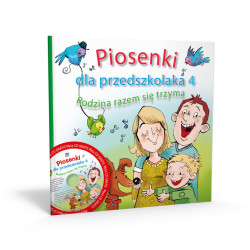 """""""Piosenki dla Przedszkolaka 4. Rodzina razem się trzyma"""""""