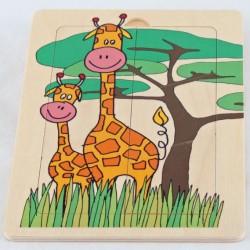 Puzzle Żyrafy