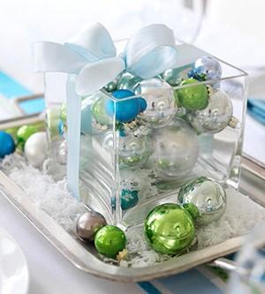 Inspiracje Boże Narodzenie 2012 Dekoracje świątecznego Stołu