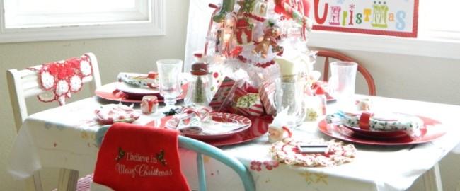 Inspiracje – dekoracje świątecznego stołu