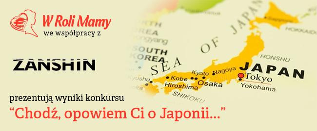 """Rozwiązanie konkursu """"Chodź, opowiem Ci o Japonii…"""""""