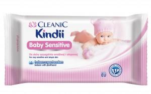 Cleanic Kindii Baby Sensitive_chusteczki nawilżane_zdjęcie