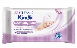 Cleanic Kindii New Baby Care_chusteczki nawilżane.jpg