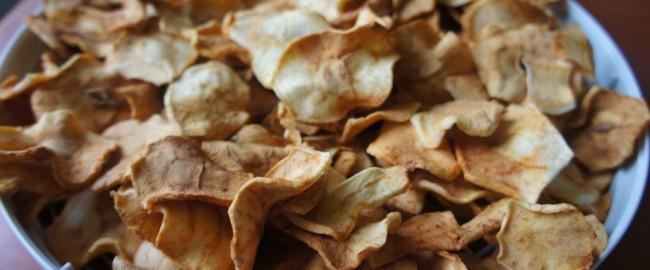 Jabłkowe chipsy