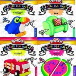 """""""Koloruję """" – Play-Doh Obrazki dla małych"""
