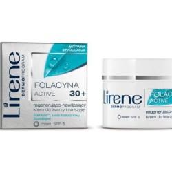 Nawilżająco – regenerujący krem do twarzy i na szyję Folacyna pro Telomer 30+