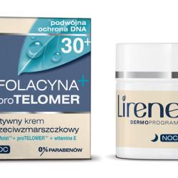 Aktywny krem przeciwzmarszczkowy Folacyna pro Telomer 30+