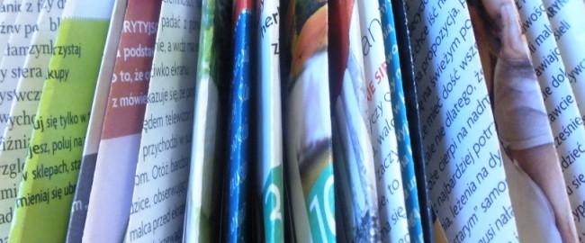 Zrób to sam, czyli jak zrobić choinkę z czasopisma