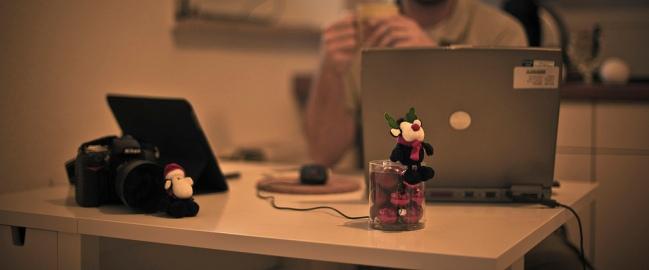 Święta w komputerze