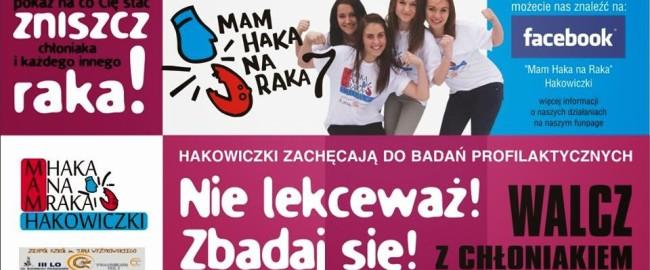 Mam haka na raka pod patronatem medialnym WRoliMamy.pl!