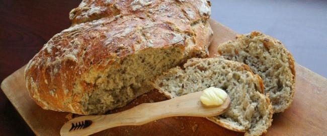 Domowy chleb w 3 i pół minuty