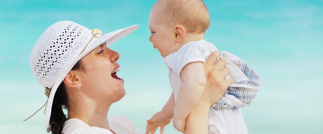 Z niemowlakiem nad morze