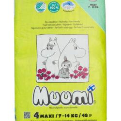 Ekologiczne pieluszki jednorazowe Muumi
