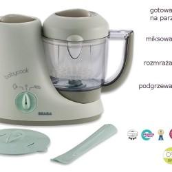 Babycook Pastel Blue – urządzenie do gotowania na parze dla niemowląt 4w1