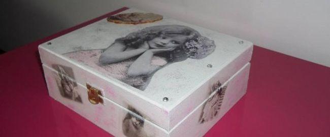 Skarby w pudełku – DIY  szkatułka