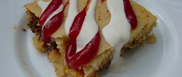 Drożdżowe ciasto czosnkowe