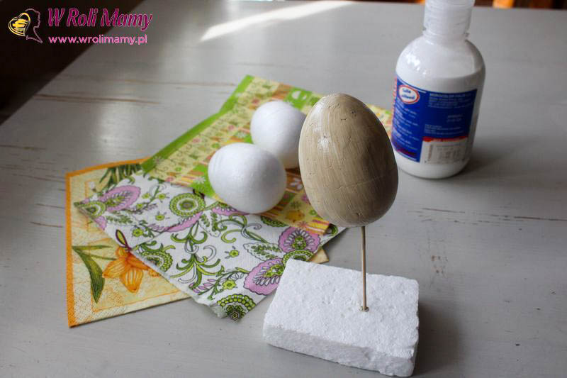 wielkanocne jajka decoupage 2