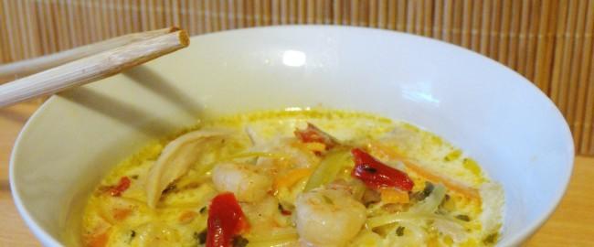 Kuchenne improwizacje – tajska zupa
