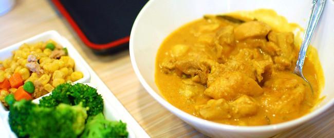 Curry z kurczakiem w mleczku kokosowym