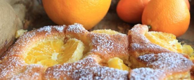 Przepis na szybkie ciasto imbirowe z pomarańczą