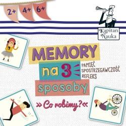 Gra Memory na 3 sposoby
