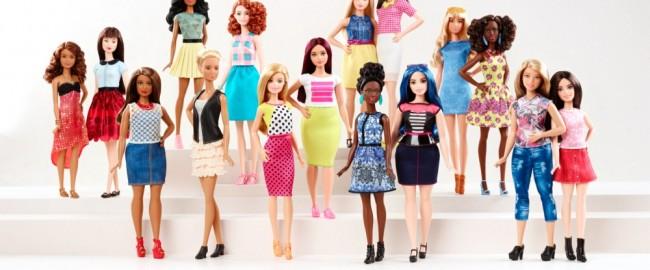 Barbie nabiera kształtów – zobacz, takie są kobiety