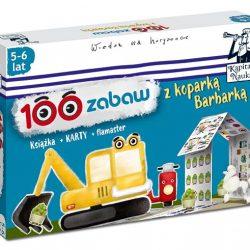 100 zabaw z koparką Barbarką