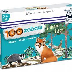 Recenzja 100 zabaw z Lisem Fisem