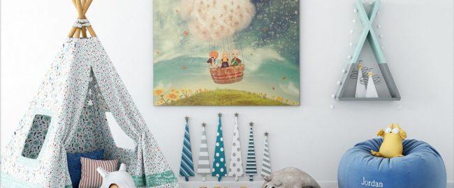 Obrazy na płótnie do pokoju dziecięcego