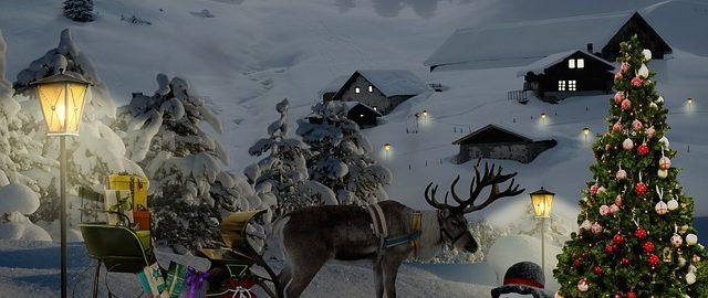 Renifery już dzwonią, święty Mikołaj pakuje sanie…