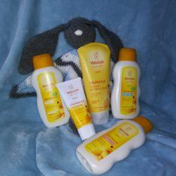 Kosmetyki Weleda, linia nagietkowa. Naturalna pielęgnacja skóry niemowląt i dzieci