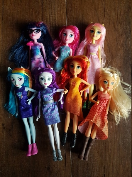lalki pony