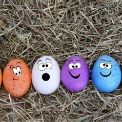 Jajka wielkanocne - pomysły na ozdoby