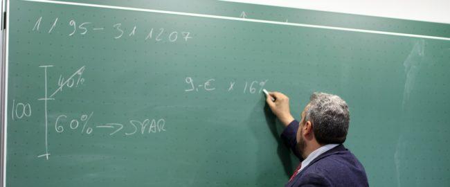 Uczył mnie przedwojenny nauczyciel