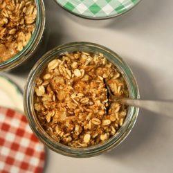 Ciastka owsiane z masłem orzechowym - na deser, drugie śniadanie, czy przekąska w drogę!