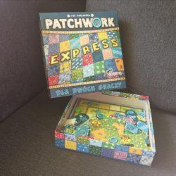 """""""Patchwork Express"""" - relaksująca gra dla dwojga"""
