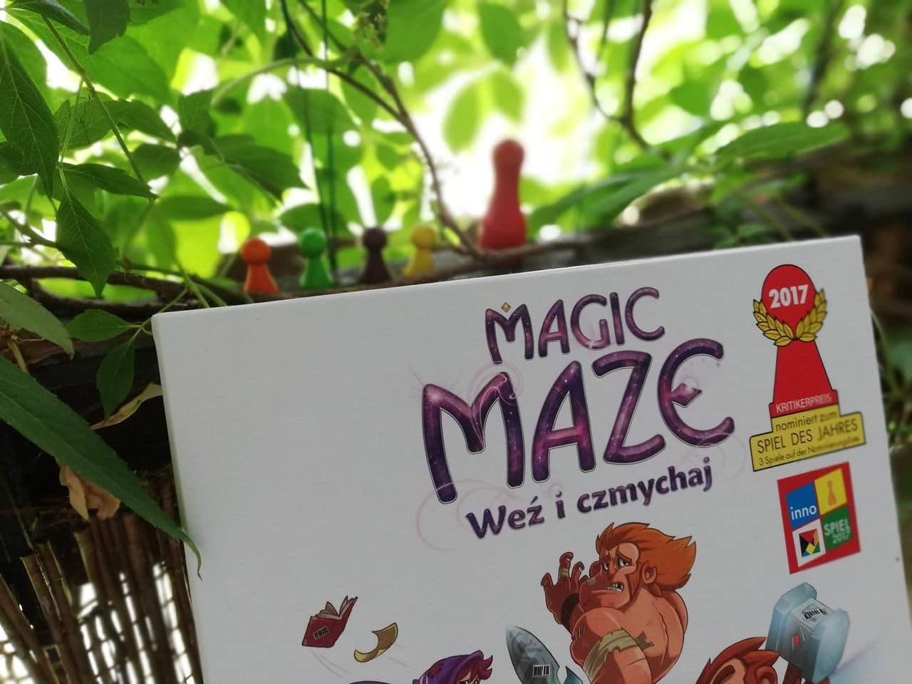 Magic Maze – świetna gra kooperacyjna dla starszych