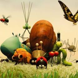Robaczki z Zaginionej Doliny - cudna animacja bez dialogów
