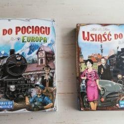 Wsiąść do pociągu Polska oraz Wsiąść do pociągu Europa!