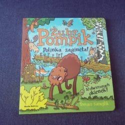 Żubr Pompik – kartonowa książeczka z okienkami