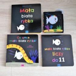 Mała biała rybka- seria książeczek dla dzieci
