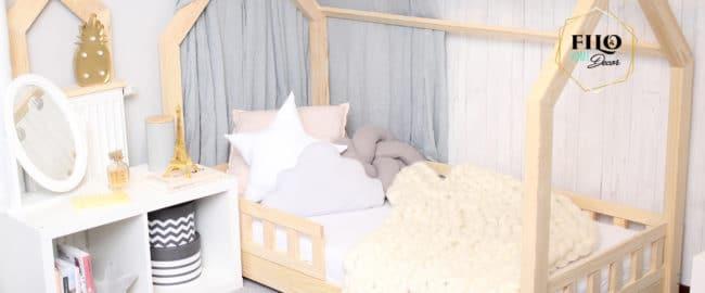 Łóżko domek – perfekcyjny wybór do pokoju dziecka!