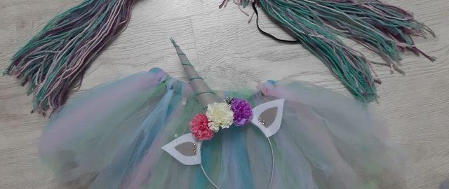 Strój jednorożca dla dziewczynki, który zrobisz samodzielnie – DIY