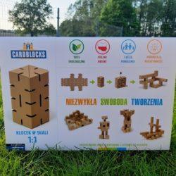 CARDBLOCKS – tekturowe klocki konstrukcyjne