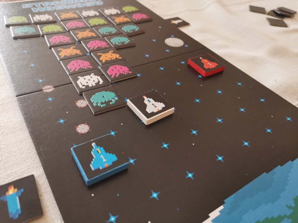 Strażnicy kosmosu - gra planszowa