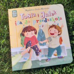 Tosia i Julek idą do przedszkola