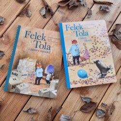 Felek i Tola – urocza seria o przyjaźni leśnych zwierząt