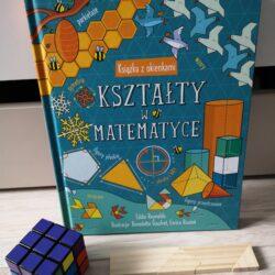 Książka z okienkami Kształty w matematyce