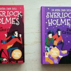 Sherlock Holmes dla dzieci – Studium w szkarłacie i Znak czterech